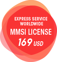 Express Service Worldwide MMSI license 169 USD